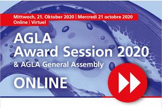 AGLA Award Session 2020 & AGLA General Assembly
